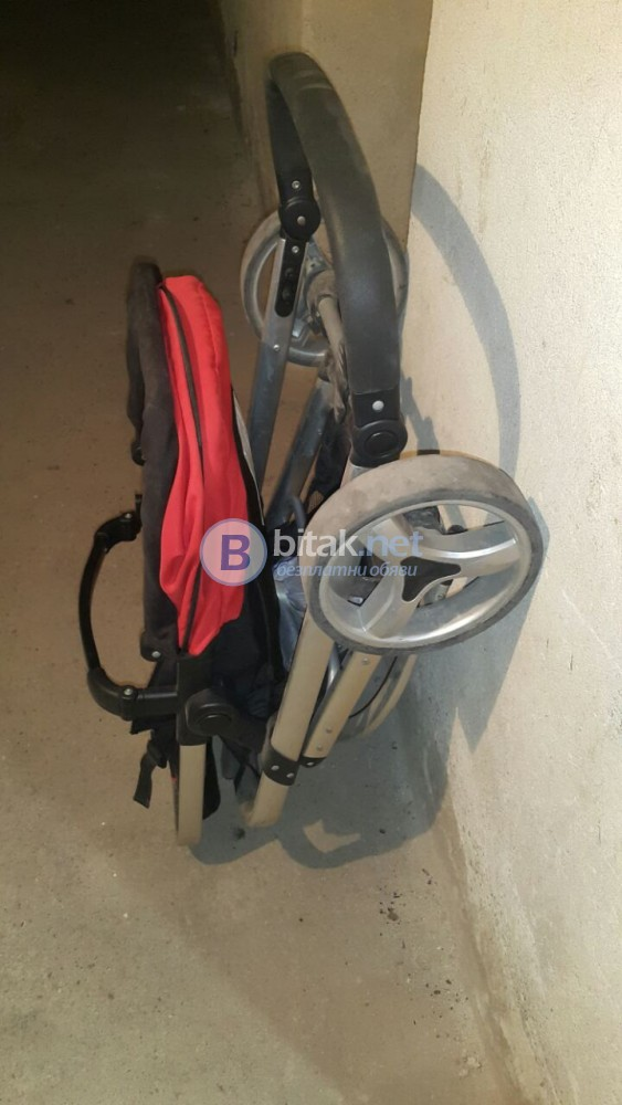 Детска комбинирана количка 2 в 1