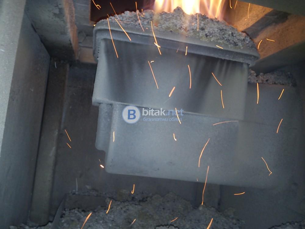 Котел на твърдо гориво с горелка Екоенергиа , Ekoenergia
