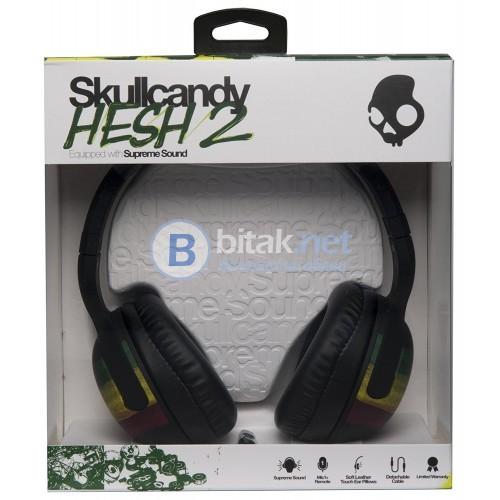 Слушалки SkullCandy Hesh 2.0 с микрофон Rasta