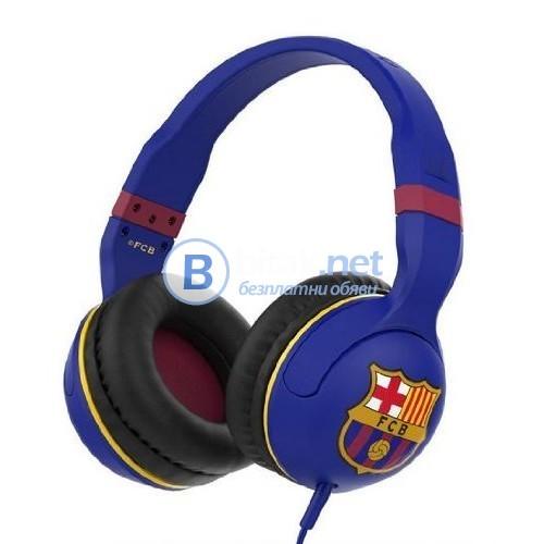 Слушалки SkullCandy Hesh 2.0 с микрофон и брандирани с ФК Барселона