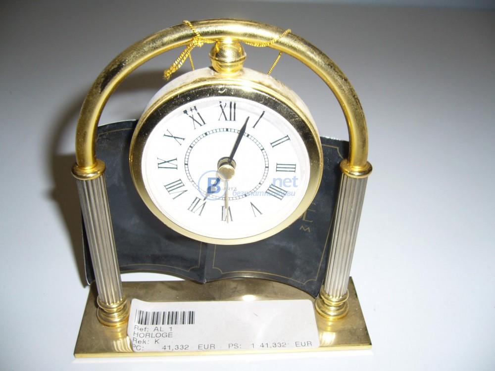 Часовник, мини ретро будилник със стойка -48%