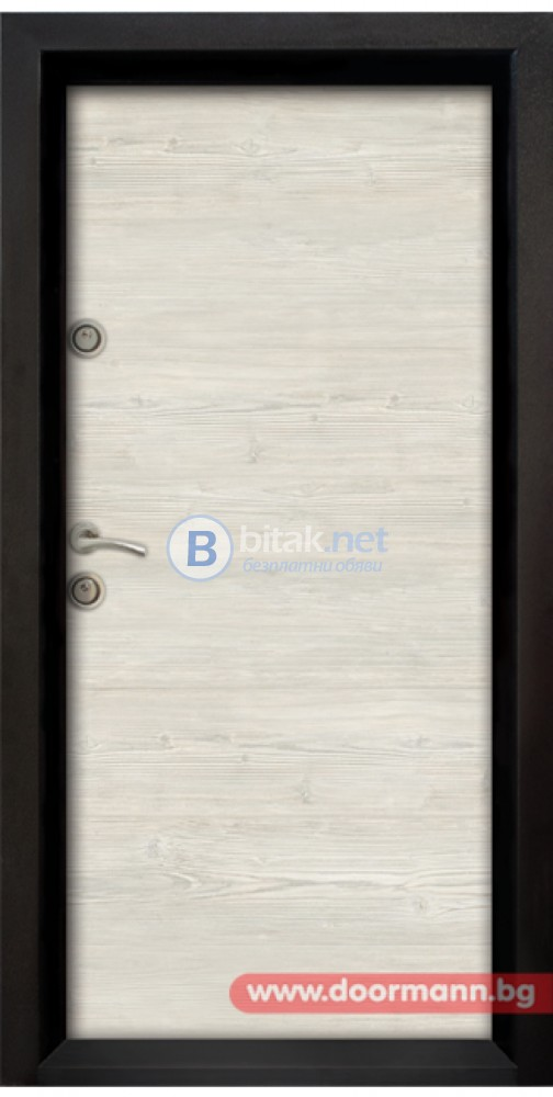 Блиндирана входна врата код Ale Door 402, цвят Sunta