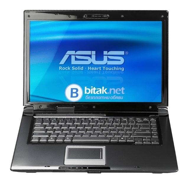 Лаптоп Asus 2-ядрен, 4gb Ram, 250gb диск, DVD, Ati HD3470