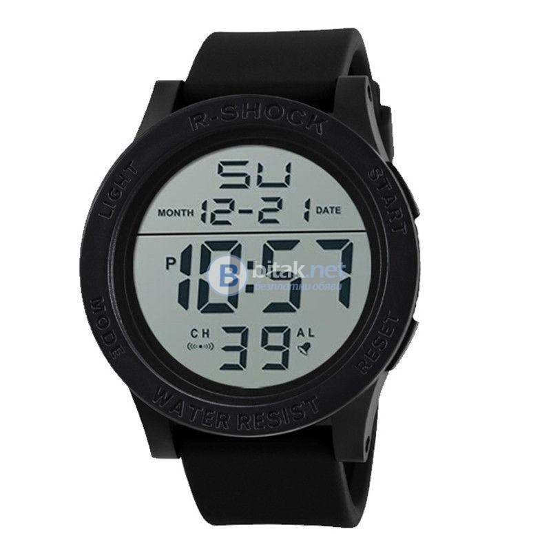 R-Shock Нов спортен часовник с хронометър аларма