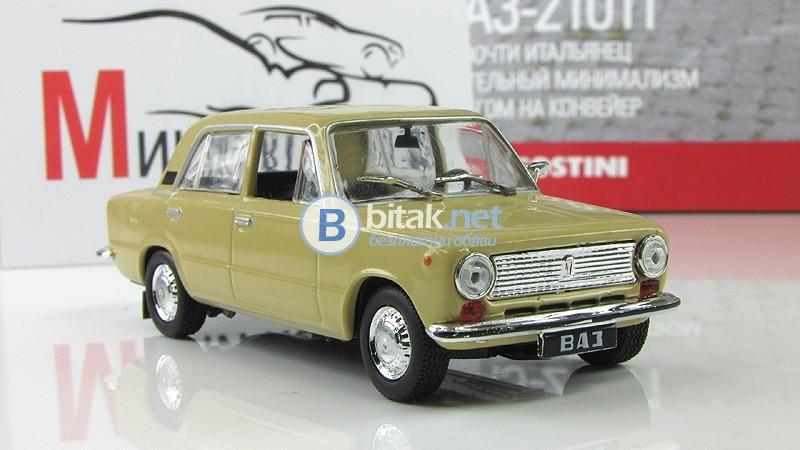 "ВАЗ-21011 «Жигули» - ""DeAgostini"" 1:43"