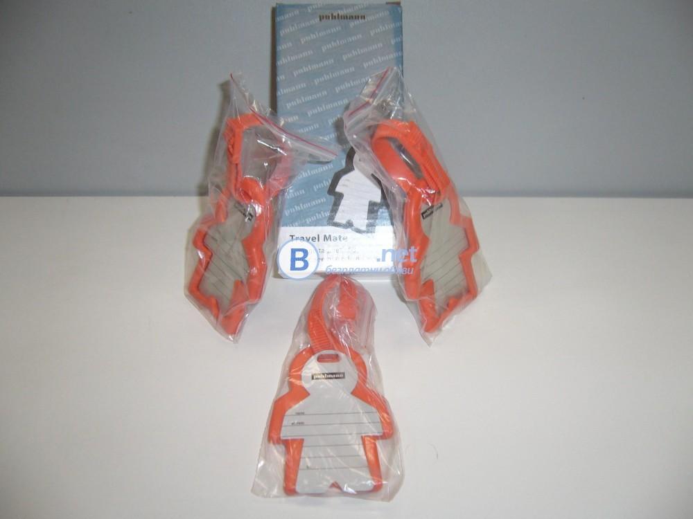 Етикети за пътуване 2 в 1, Травел етикет 3 бр.