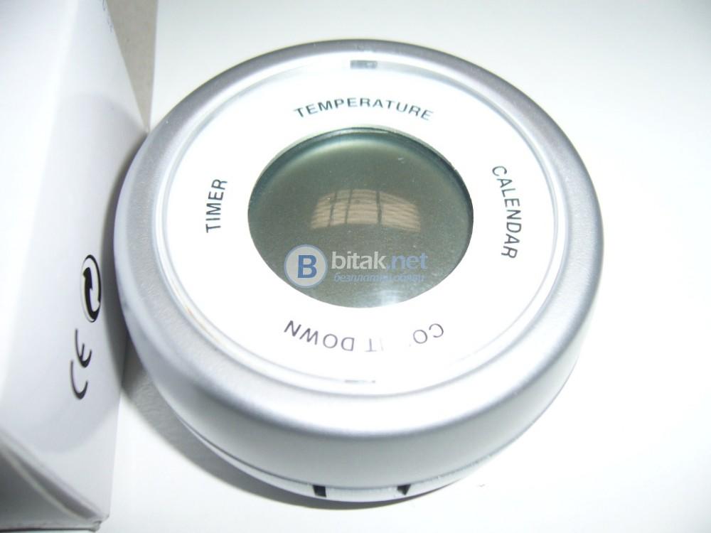 Часовник, календар и термометър