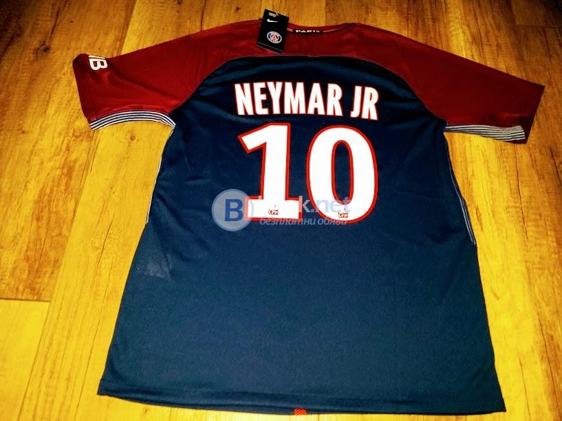 10 Неймар JR - ПСЖ тениска
