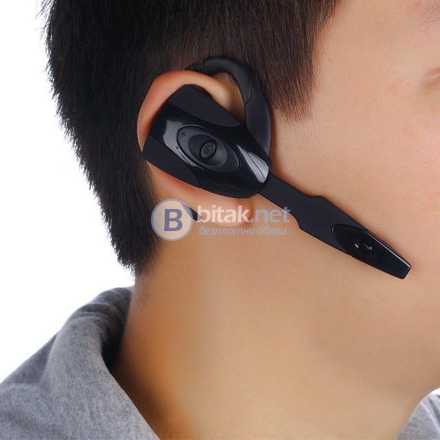 Безжична блутут геймърска слушалка Bluetooth за PS3 хендсфри телефон