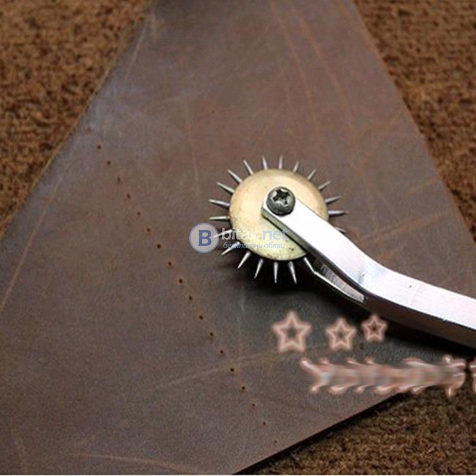 Бодливо колело инструмент за пробиване на дупки в кожен плат картон Крафт