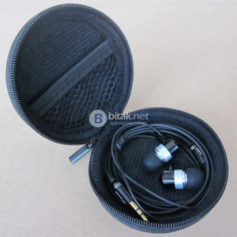 Калъф за слушалки кутия органайзер с цип за ключове блутут аксесоари