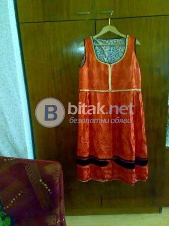 Продавам сукман от автентична Добруджанска женска народна носия