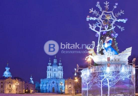 Нова Година в Санкт Петербург + Москва