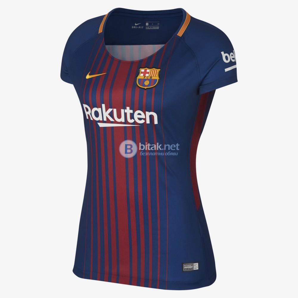 Барселона женска футболна тениска