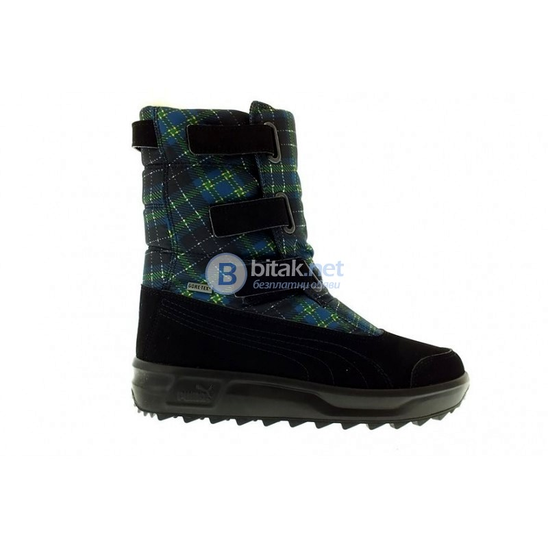 Puma Acima Gore-Tex Plaid Winter black АПРЕСКИ