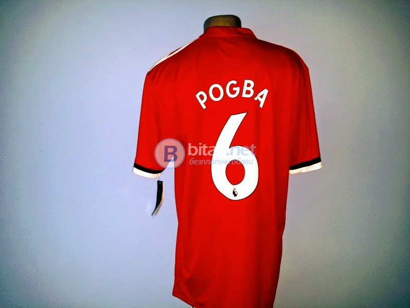 Pаul Pоgba 6 – Манчестър Юнайтед червена тениска