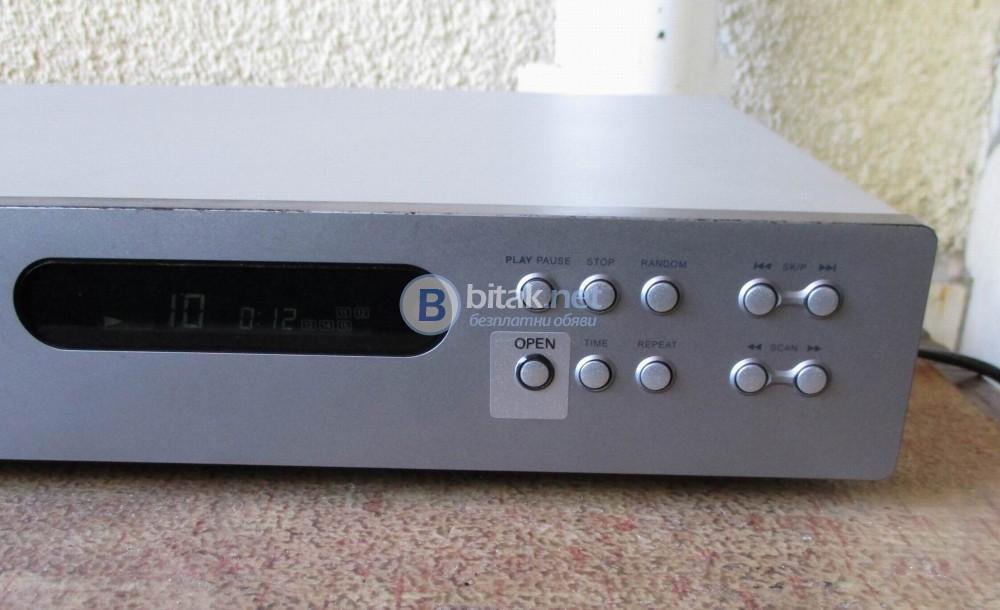Nad 521 bee – Качествен сд плейър, настроен от аудио гуруто на фирмата – Bjorn Eric Edvardsen