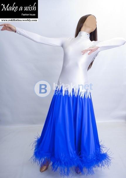 Рокли за спортни танци - изработваме по поръчка. Имаме и 30 готови рокли за латина и стандарт.