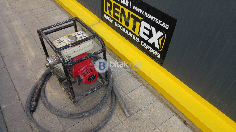 Вибратор бензинов за бетон ф38 - втора употреба