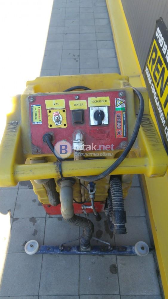 Подопочистващ автомат триглав
