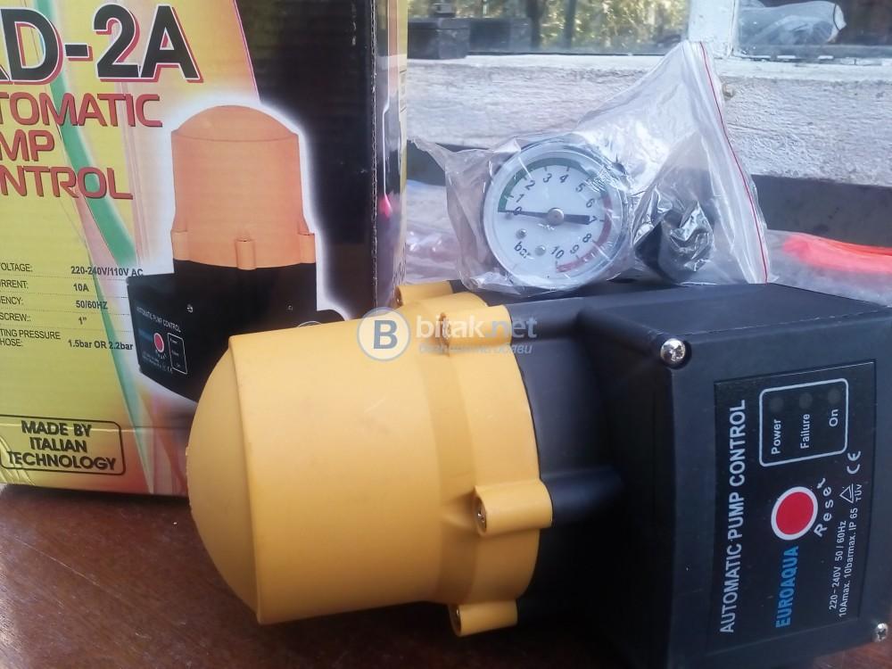 Контролер за помпа/пресостат/ геран или напояване.вода