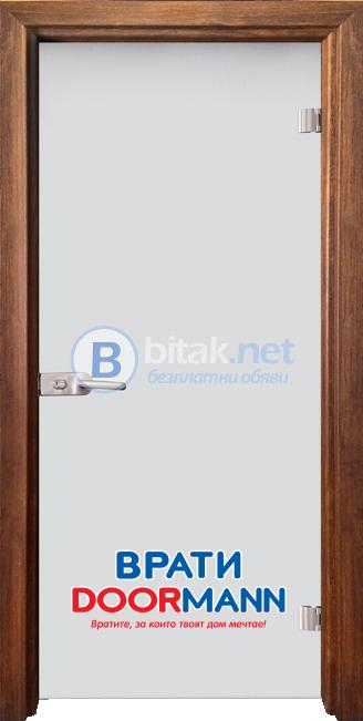 Интериорна врата стъклена Matt G 11