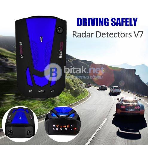 Нов Лазерен Антирадар Радарен детектор за автомобили засича камери