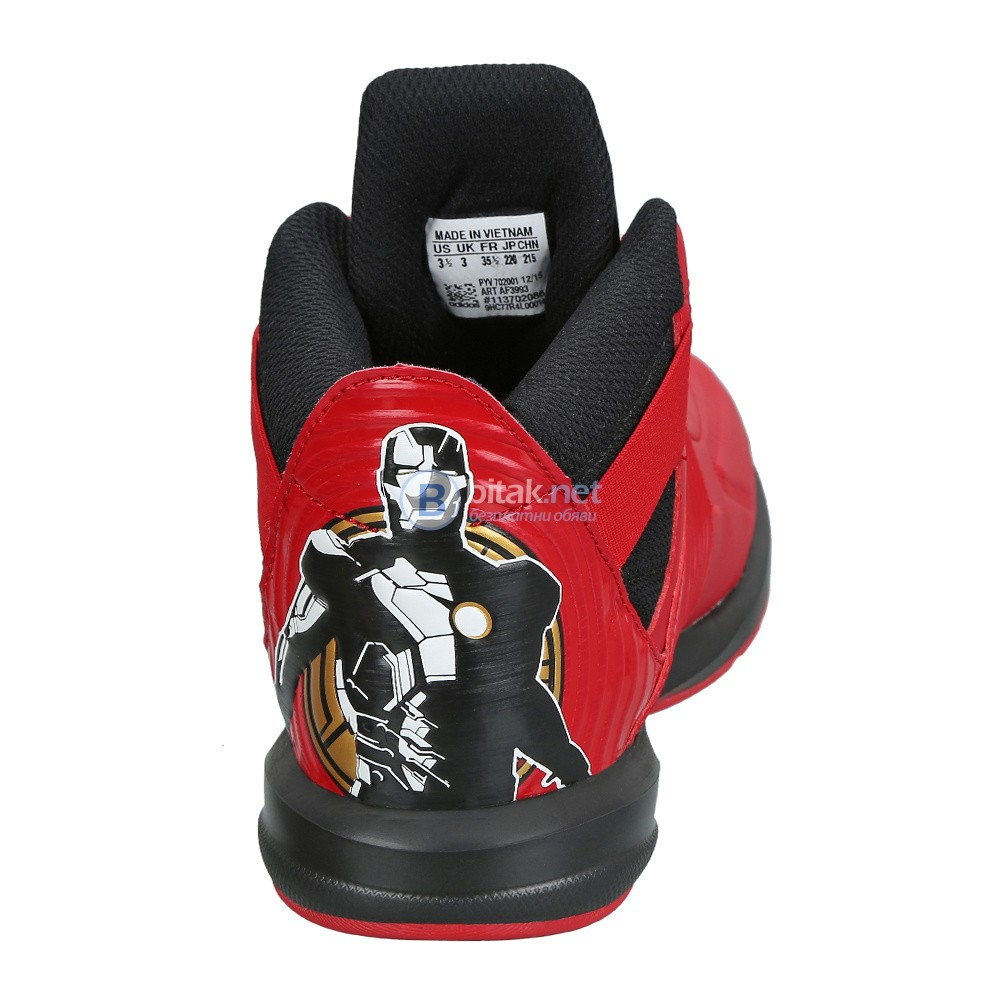 Adidas Marvel Avengers Hi red ДЕТСКИ МАРАТОНКИ