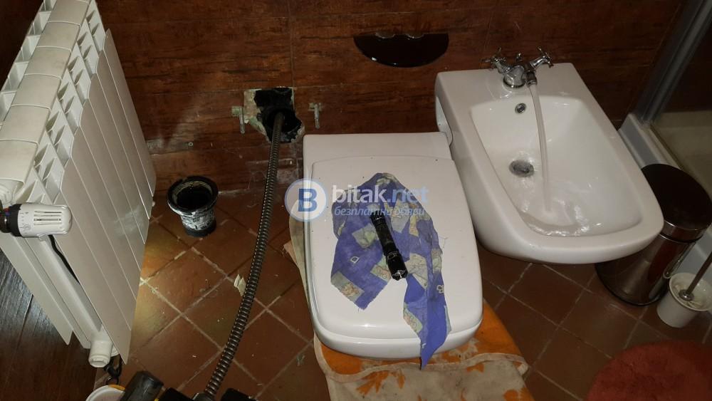 Вома  отпушване на канализация град Пловдив