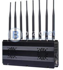 Заглушител за GSM, 2G, 3G, 4G, WiFi с 8 ант. J-101D8.