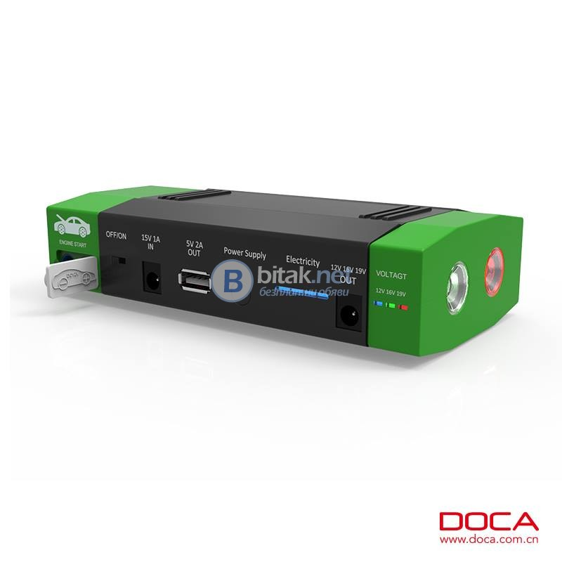 15000mAh D589 Многофункционален Jump Starter - Start Booster