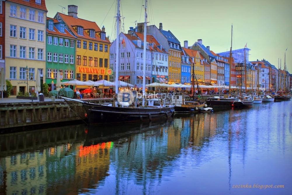 СКАНДИНАВИЯ с Хелзинки   със самолет кацане Копенхаген и излитане от Копенхаген