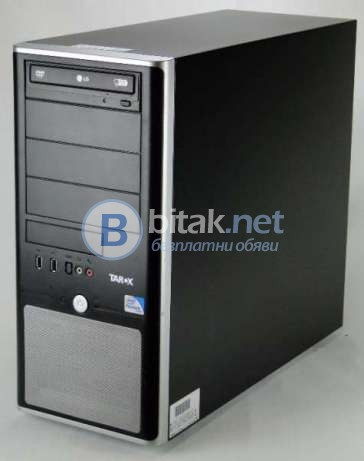 Марков компютър Tarox Intel® Core™ i3-540 и Mонитор Acer V193W НА НЕВЕРОЯТНА ЦЕНА.