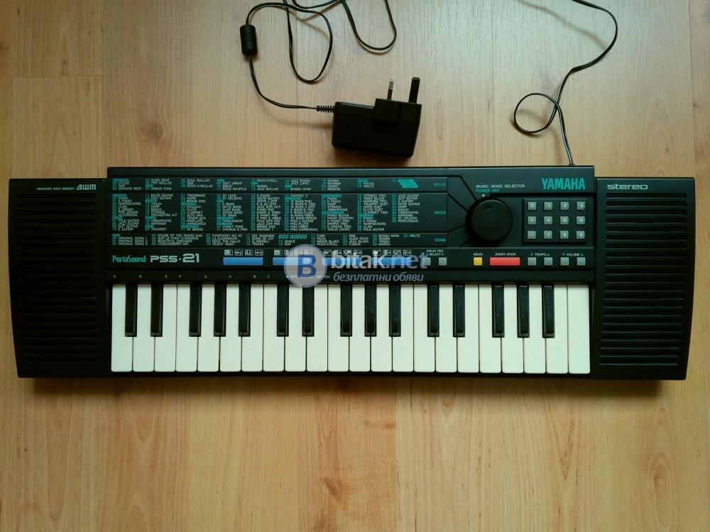 Синтезатор YAMAHA PortaSound PSS-21