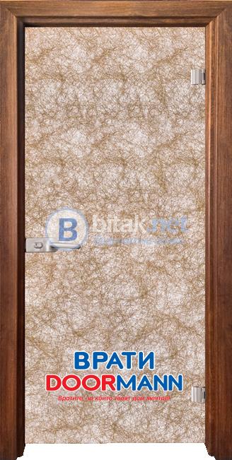 Стъклена врата модел Fabric G 12-1 Gold A