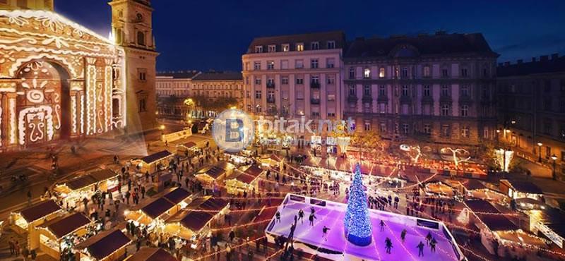 Нова година 2018 в Будапеща - с полет от София