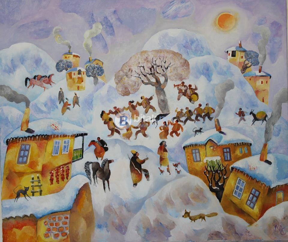 Картини на Милчо Спасов