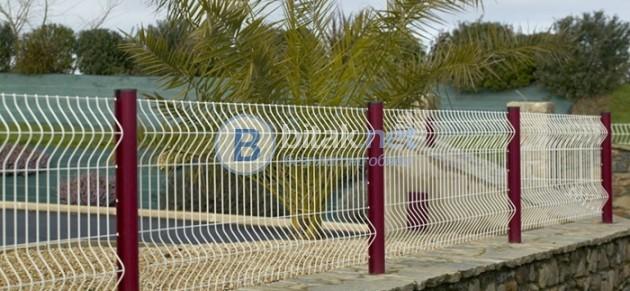 Метална ограда от пана - системи