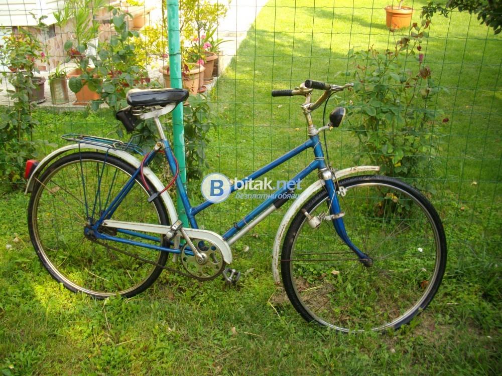 велосипед съветски