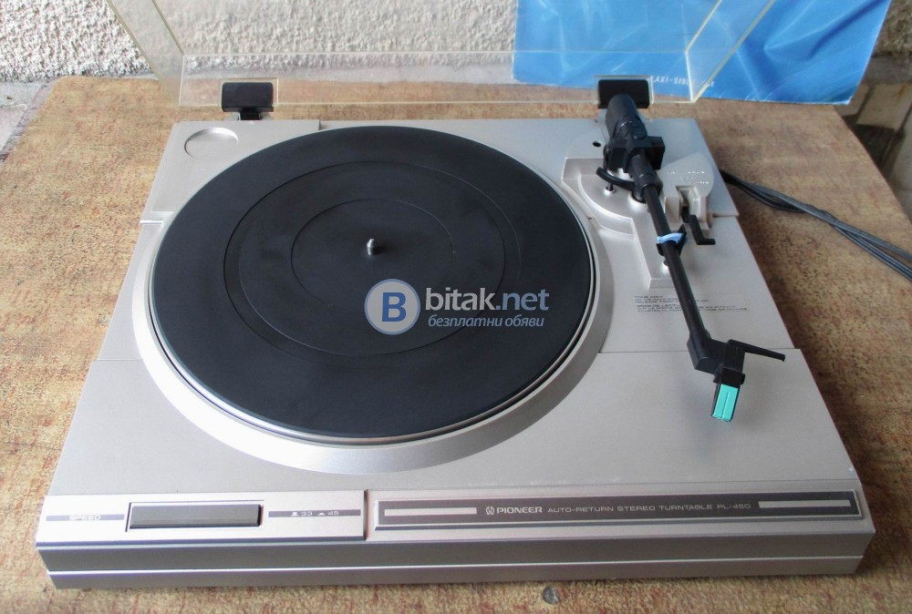PIONEER PL-450 – Грамофон система белт драйв. Нова игла.