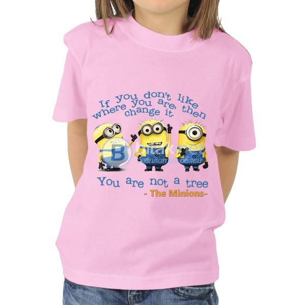 ХИТ! Детски тениски THE MINIONS / МИНЬОНИ с уникален принт! Поръчай модел с ТВОЯ идея!
