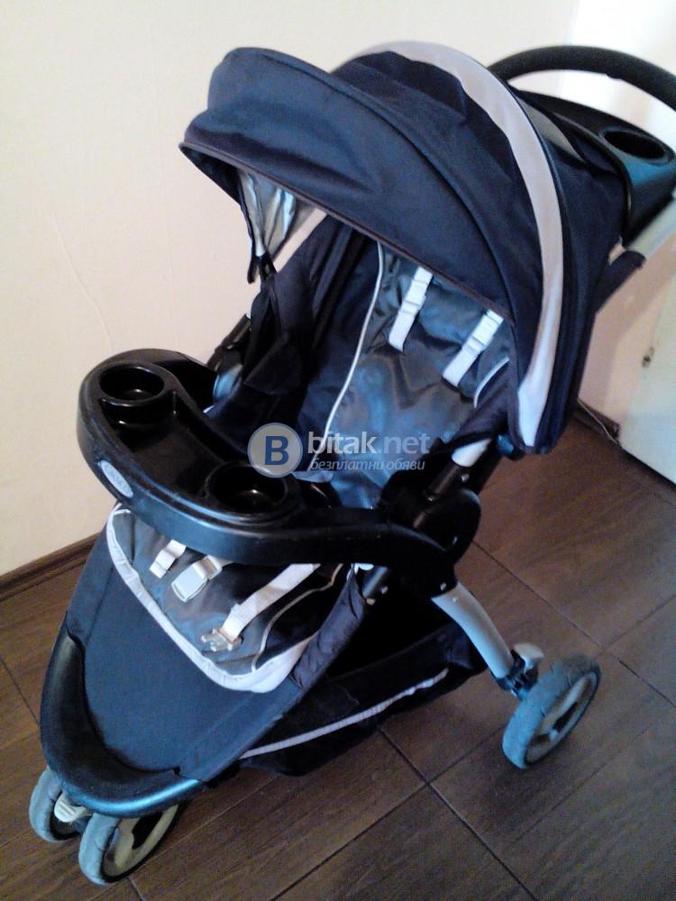 Продавам употребявана детска количка
