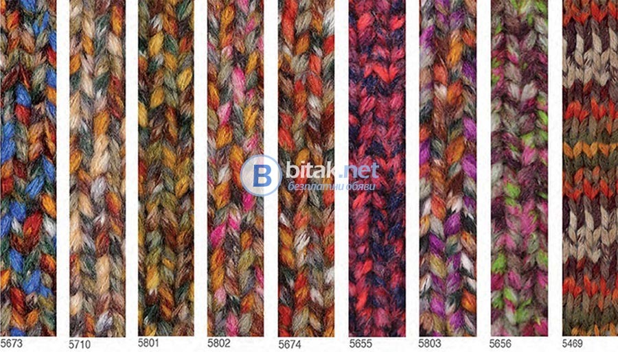 Модни топли и ефектни ръчно плетени шалове