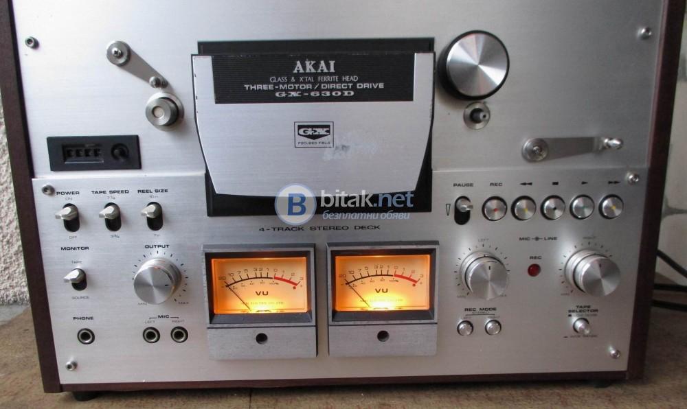 AKAI GX-630D – Четирипистов красавец в отлично състояние.