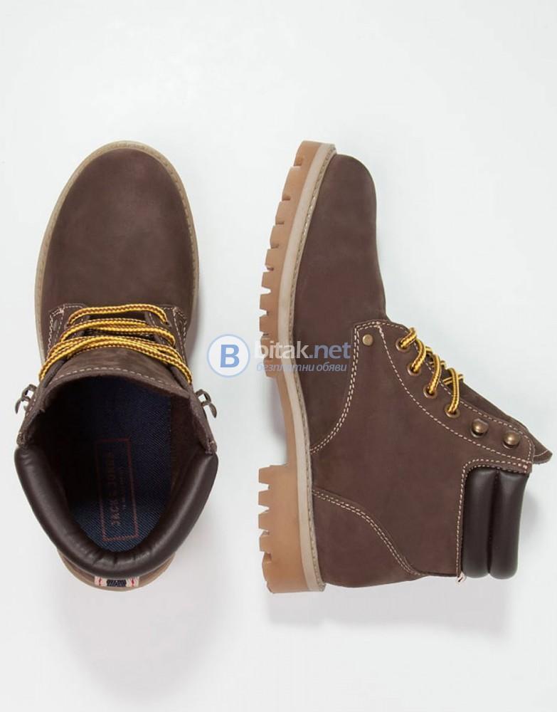 JACK&JONES Men's Boots Brown МЪЖКИ ЗИМНИ БОТИ