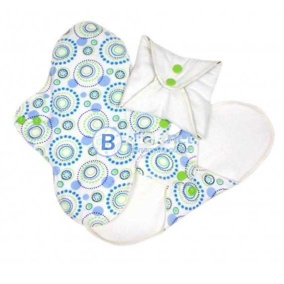 Дамски превръзки за многократна употреба Imse Vimse, ежедневни, от плат, био памук