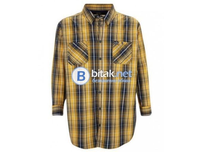 Мъжка риза с дълъг ръкав - XXXXL - от Германия