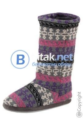 Дамски ботуши плетени - от Германия