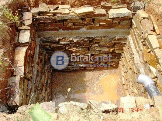 Септични ями и подпорни стени Почистване кладенци ИЗГОДНО 0893831515