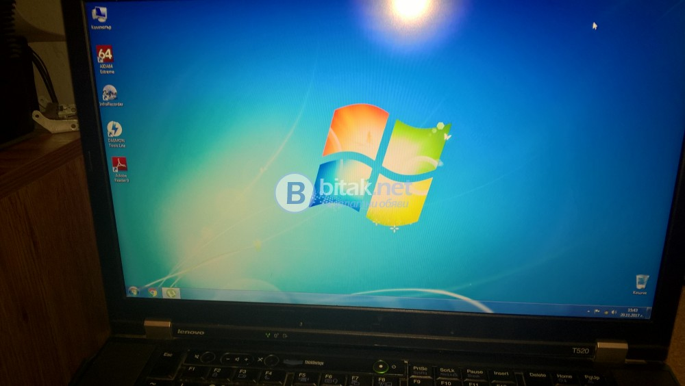 Продавам лаптоп Lenovo ThinkPad T520